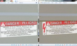 Meter Sticker