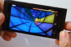 Lumiappaday #173: Warp demoed on the Nokia Lumia 800