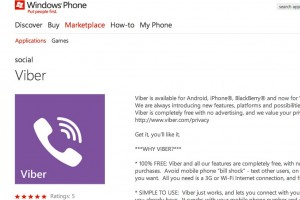 Viber available for Nokia Lumia