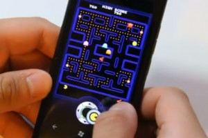 Lumiappaday #180: PAC-MAN  demoed on the Nokia Lumia 800 XBoxLive