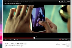 Stormtrooper White Nokia Lumia 900 in Flo Rida's New Music Video