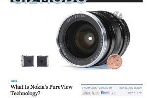 Nokia's PureView – Gizmodo gets it