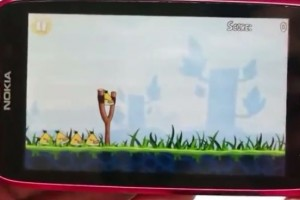 Video: Angry Birds on the Nokia Lumia 610