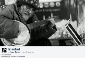 Video: Istanbul, Black and White by Nokia 808 PureView?