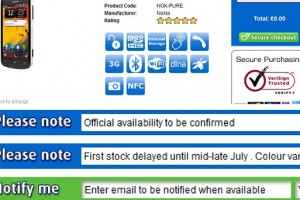 Clove UK's Nokia 808 PureView pushed back to mid-late July
