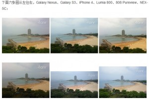 Camera Comparison: Galaxy S3 vs iPhone 4 vs Nokia Lumia 800 vs Nokia 808 Pureview vs NEX-5C