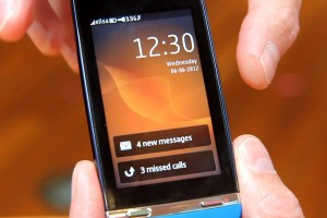 Video: Cool Nokia Asha 311 Swipey Lock Screen/notifications, N9 like gesture for Asha Touch S40