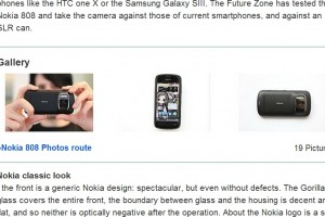 Nokia 808 PureView detailed impression
