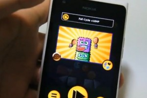 Lumiappaday #227: Monster Stack 2 demoed on the Nokia Lumia 900