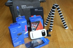 Nokia 808 PureView Swagbag!