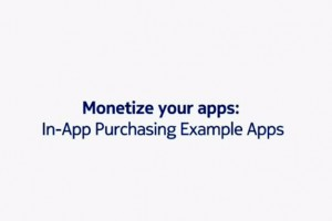 Video: Monetize your apps: In-App Purchasing Example Apps, demoed on Nokia E7