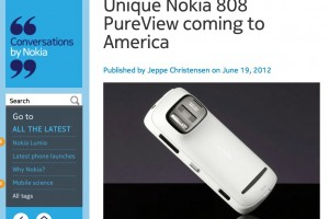 NokConv: Unique Nokia 808 PureView coming to America