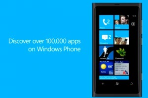 Video: WP's 100K apps video promo (with erroneous video calling on Lumia 800)