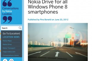 Err..Nokia Drive for ALL WP8 phones