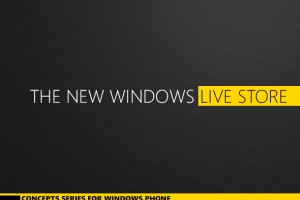 Concept: Windows Live Store (Marketplace, Zune, XBOX etc. all-in-one)
