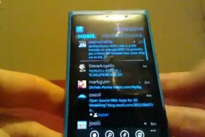 Lumiappaday #213 : Twabbit demoed on the Nokia Lumia 800 (twitter client)