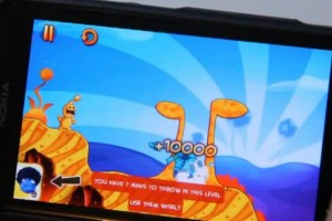 Lumiappaday #206: Monster Island demoed on the Nokia Lumia 800 XboxLive