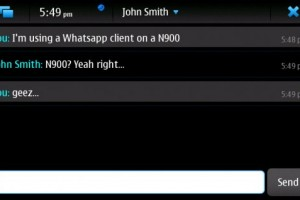 Yappari – A WhatsApp client for the N900