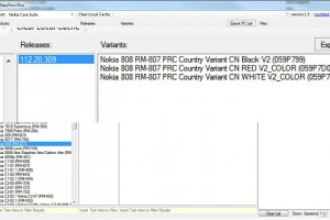 Nokia 808 PureView firmware files in NaviFirm (v112.20.309)