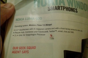 Carphone Warehouse's 'overclocked' 11.4GHz Nokia Lumia 900 :P