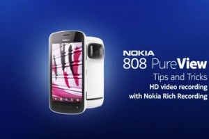 Video: Nokia 808 PureView Tips (Part 4): How to Capture HD Video with Nokia Rich Recording