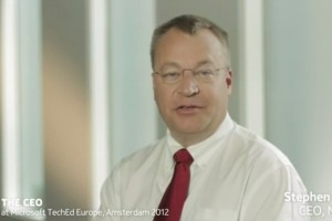 Video: Ask the CEO: Stephen Elop at TechEd Amsterdam