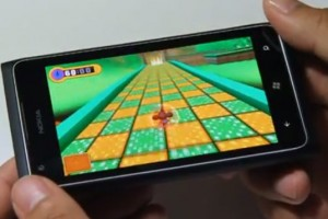 Lumiappaday #241: Super Monkey Ball 2 demoed on the Nokia Lumia 900 XboxLive