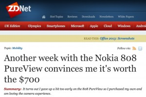 Nokia 808 PureView and Symbian – Worth its salt