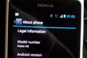 Nokia N9 with Jelly Bean (Android 4.1.1)