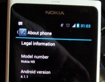 Андроид 4.1.1 Nokia N9
