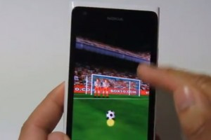 Lumiappaday #247: Football Kicks demoed on the Nokia Lumia 900
