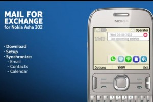 Video: Set up Mail for Exchange on your Nokia Asha 302