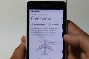 Lumiappaday #249: Airbus demoed on the Nokia Lumia 900