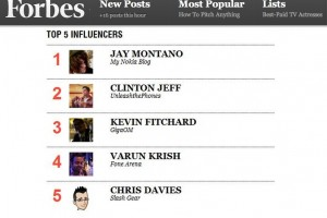 "Forbes: ""Who Are The Top Ten Influencers In Social, Mobile, and Cloud?"" :p"