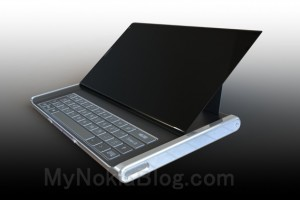 My Dream Nokia #61: Nokia Lumia 960 Tab, E7 like 7″ tilt keyboard W8 tablet concept