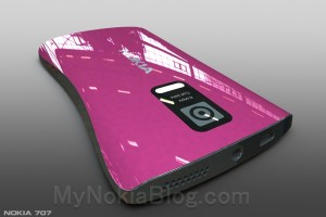 MyDreamNokia #64: Nokia Lumia 707 WP8 concept with unconventional curves