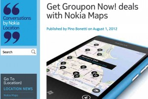 Nokia Maps updated with Journey Planner and Groupon Now! deals.