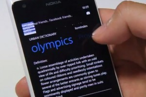 Lumiappaday #264: Urban Dictionary demoed on the Nokia Lumia 900