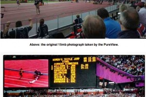 HuffingtonPost: Nokia 808 PureView at Olympics