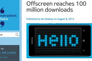 Congrats to Offscreen for reaching 100 million downloads!