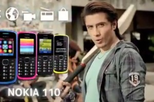 Video: Nokia 110 TV commercial ft Ali Zafar
