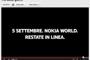 Video: Nokia Italy&#8217;s September 5 Teaser