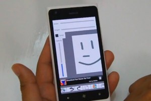 Lumiappaday #289: Sketch Board demoed on the Nokia Lumia 900