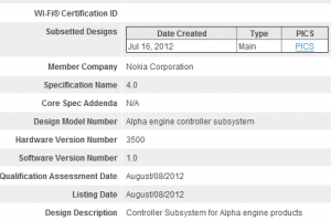 Nokia Alpha with optimised BT4.0?