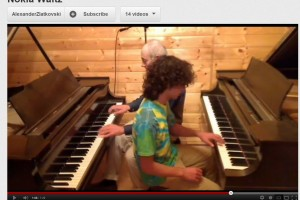 Video: Father and son play Grand Waltz on Piano #NokiaTune with a twist