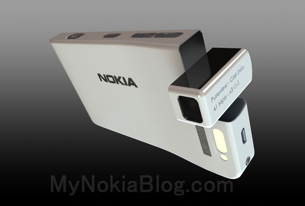 Video: Twisty camera Concept Nokia 809 (MDN#63), camera barrel movement.