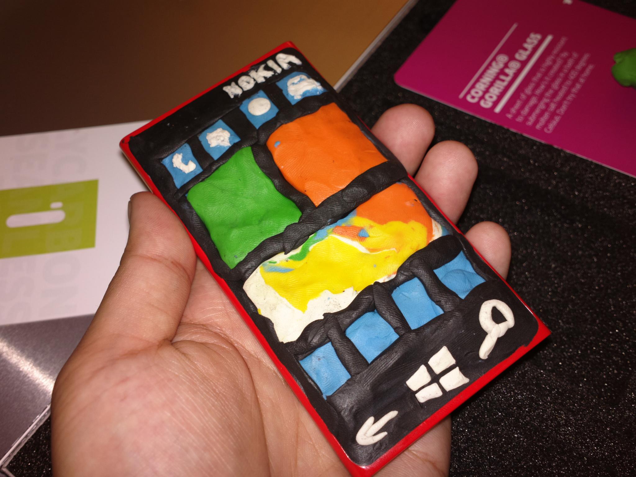 I made my own Nokia Lumia 920 last night :p lol (Shot on ...