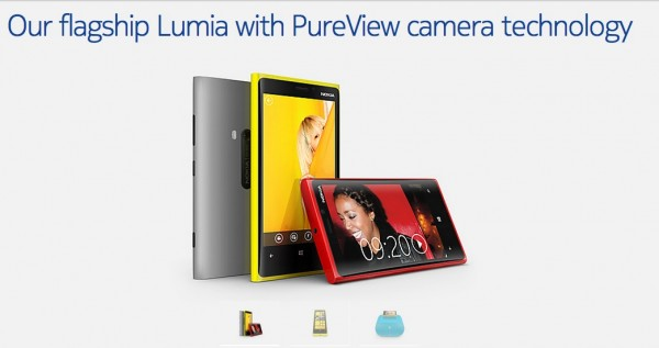 REPORT :- Nokia Lumia 920 tech specs and official page