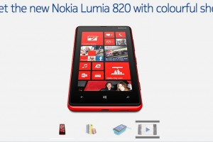 Nokia Lumia 820 Tech Specs and official page