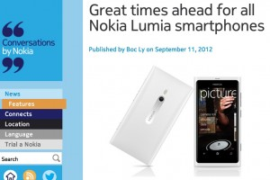 Bluetooth File transfer confirmed for Lumia, as well as ringtone maker in more in WP7.8